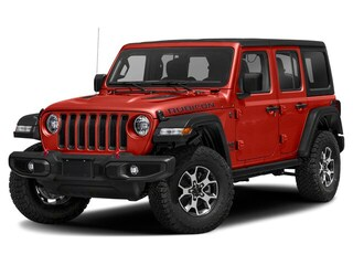 New 2018 Jeep All-New Wrangler Unlimited Rubicon SUV 1C4HJXFG6JW188888 18368 Firecracker Red for Sale in Fort Saskatchewan