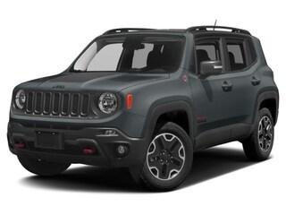 New 2018 Jeep Renegade Trailhawk SUV ZACCJBCB9JPG85243 Calgary, AB