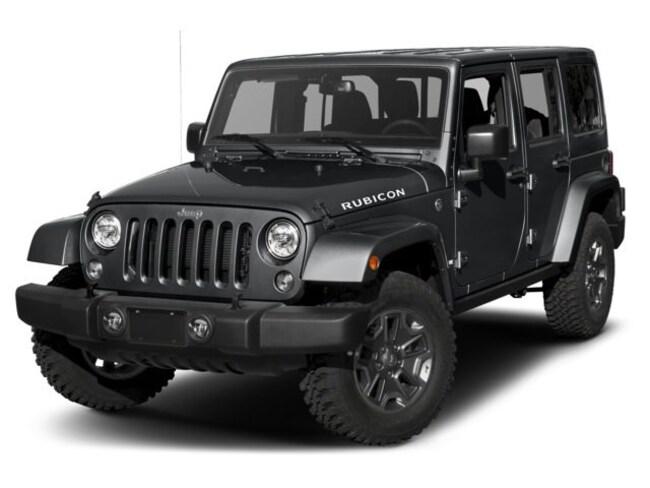 2018 Jeep Wrangler JK Unlimited Rubicon Convertible