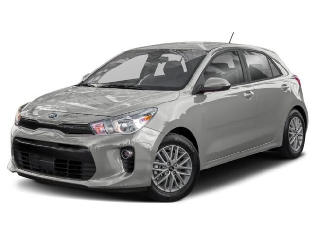 new 2018 Kia Rio 5-Door LX MT Hatchback 6 speed manual [COL] 1.6L Ultra Silver Metallic calgary
