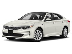 2018 Kia Optima LX Sedan A6 2.4L Snow Pearl White