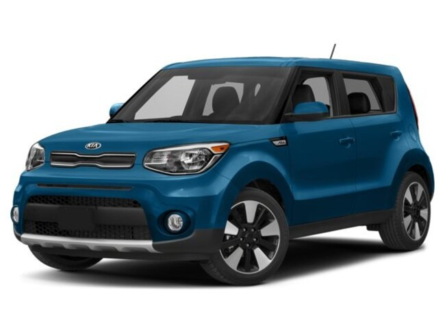 2018 Kia Soul EX Hatchback Automatic 2.0L Caribbean Blue