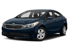 2018 Kia Forte 1.8L I4 LX AT Sedan 2.0L Hyper Blue