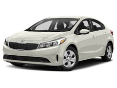 2018 Kia Forte LX Sedan A6 2.0L Snow White Pearl