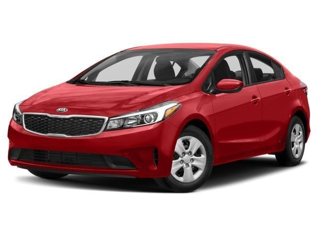 2018 Kia Forte LX+ Sedan 6 Automatic w/OD 2.0L Radiant Red