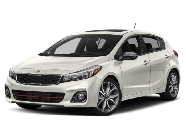 2018 Kia Forte 2.0L LX+ Hatchback 6 speed automatic [] 2.0L Snow White Pearl