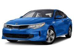 2018 Kia Optima Hybrid 2.0L EX Sedan 6 speed automatic [AIR, FRTC] 2.0L Gravity Blue