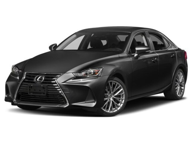 2018 LEXUS IS 300 Luxury Package Sedan