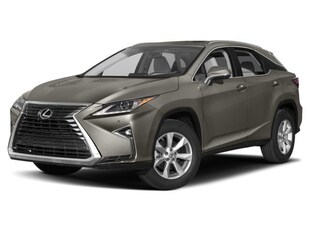 2018 LEXUS RX 350 LUXURY PACKAGE SUV