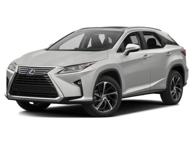 2018 LEXUS RX 450h Executive Package SUV