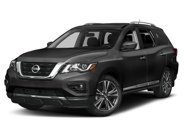 2018 Nissan Pathfinder Platinum V6 4x4 at SUV