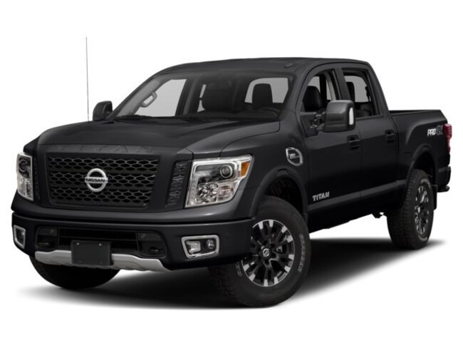 2018 Nissan Titan PRO-4X - Demo Savings Truck Crew Cab