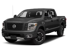 2018 Nissan Titan PRO-4 Luxury 4-inch Lift w/ Wheels, Rim, Step Rail Truck Crew Cab