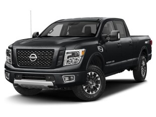2018 Nissan Titan PRO-4X PRO-4X Luxury Package Truck