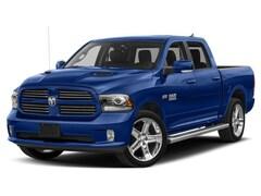 New 2018 Ram 1500 2018 Ram 1500 Hydro Blue Sport Truck Crew Cab 1C6RR7MT6JS192080 Calgary, AB