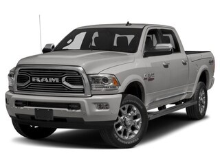 New 2018 Ram 2500 Laramie Longhorn Truck Crew Cab 3C6UR5GL9JG105130 18396 Bright Silver Metallic for Sale in Fort Saskatchewan