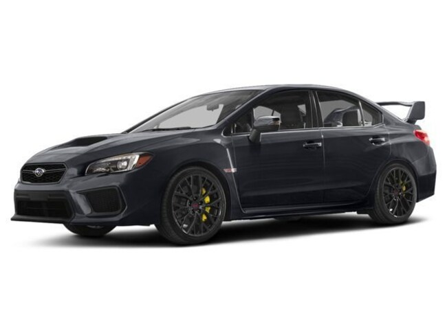2018 Subaru WRX STI STI Sport-tech Manual w/Wing Spoiler Sedan
