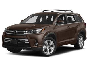 2018 Toyota Highlander LTD AWD 8 SPD AUTO SUV