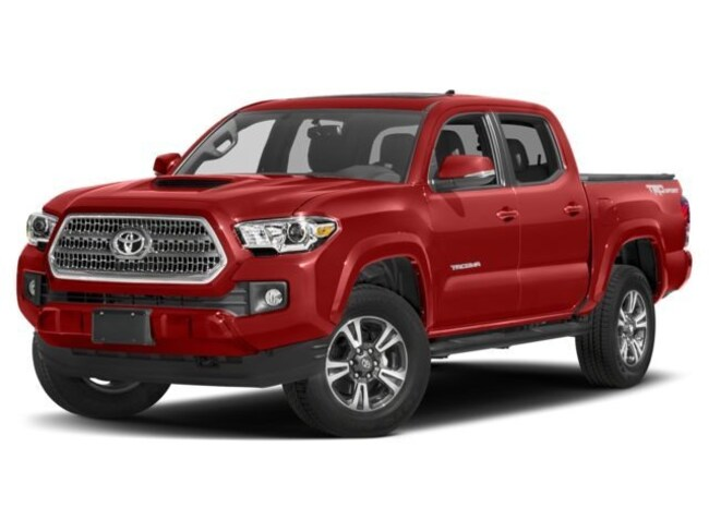 2018 Toyota Tacoma 4X4 DBL CAB V6 TRD 6M Truck Double Cab