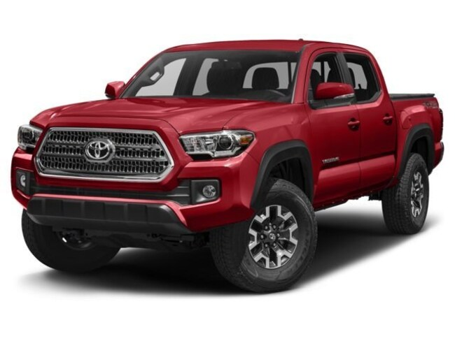2018 Toyota Tacoma 4x4 Double Cab V6 TRD Off-Road 6A Truck Double Cab
