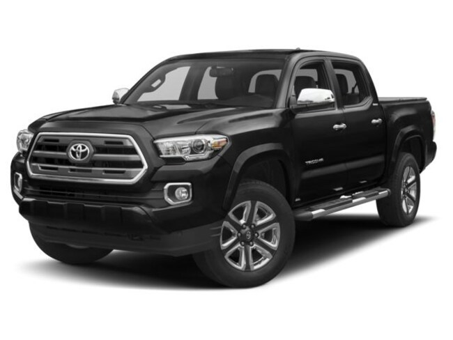 2018 Toyota Tacoma Limited V6|Executive Demo|Navigation|Low KM Truck Double Cab