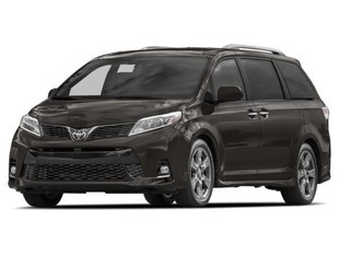 2018 Toyota Sienna SE 8-Passenger V6 Van Passenger Van