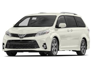 2018 Toyota Sienna 7 PASS 8 SPD AWD LE Van Passenger Van
