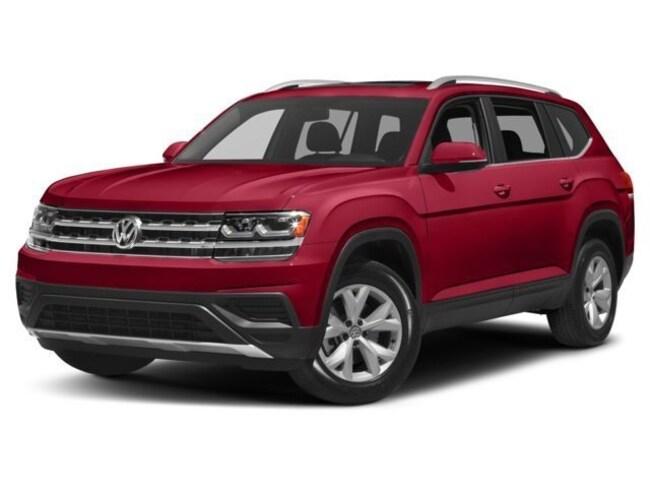 2018 Volkswagen Atlas Trendline 3.6L 8sp at w/Tip 4motion VUS