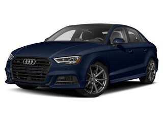 2019 Audi S3 2.0T Progressiv Quattro 7sp S Tronic 4-Door Sedan