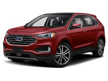 2019 Ford Edge Titanium Cold Package 2xCostco Titanium AWD