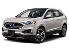 2019 Ford Edge Titanium VUS 2.0L Premium Unleaded White Platinum Tri-Coat