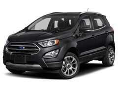 2019 Ford EcoSport Titanium SUV 2.0L Regular Unleaded Black