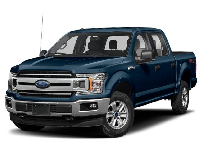 2019 Ford F-150 XLT Truck SuperCrew Cab [XL9, 86B, 44G, 64L, E7, T2P, 67T, 994, 413, 63T, MG, 302A] V-6 cyl