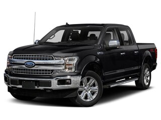 2019 Ford F-150 Lariat Truck SuperCrew Cab 3.5L Regular Unleaded Agate Black