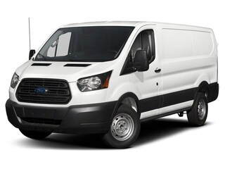 2019 Ford Transit-250 Base w/Sliding Pass-Side Cargo Door Van Low Roof Cargo Van 3.7L Gaseous Fuel Compatible Oxford White