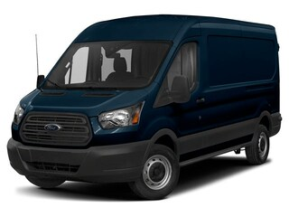 2019 Ford Transit-250 Base w/Sliding Pass-Side Cargo Door Van Medium Roof Cargo Van 3.7L Gaseous Fuel Compatible Blue Jeans