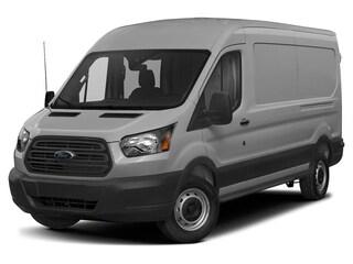 2019 Ford Transit-250 Base w/Sliding Pass-Side Cargo Door Van Medium Roof Cargo Van 3.7L Gaseous Fuel Compatible Ingot Silver
