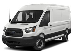 2019 Ford Transit-250 Base w/Sliding Pass-Side Cargo Door Van Medium Roof Cargo Van 3.7L Gaseous Fuel Compatible Oxford White