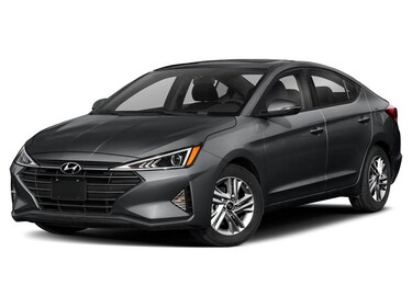2019 Hyundai Elantra Luxury at Sedan