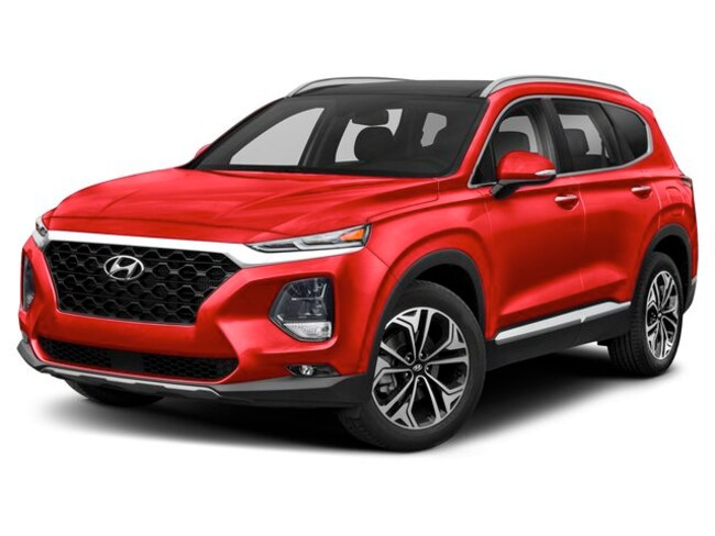 2019 Hyundai Santa Fe Luxury AWD 2.0T Dark Chrome SUV