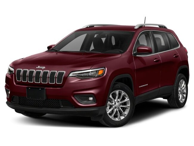 Used 2019 Jeep New Cherokee North 4x4 SUV in Regina
