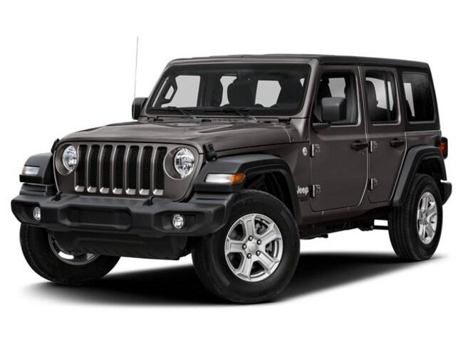 2019 Jeep Wrangler Unlimited Sahara VUS