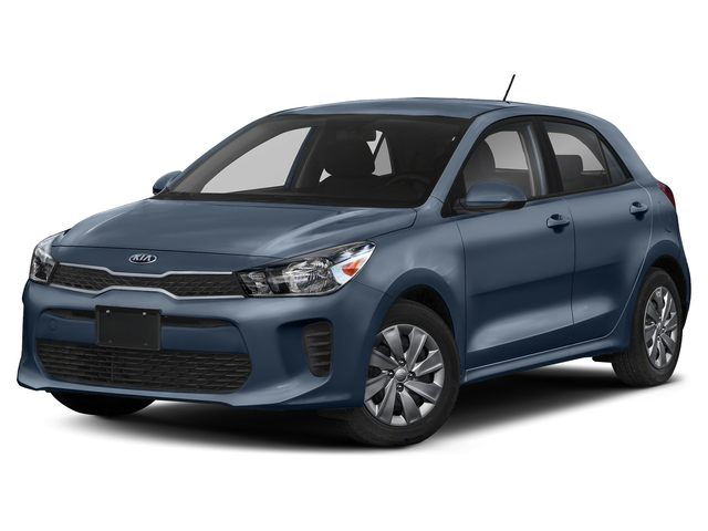 2019 Kia Rio 5-door LX+ Hatchback 6-Speed Automatic -inc: 3.065 Axle Ratio 1.6L ICE Blue