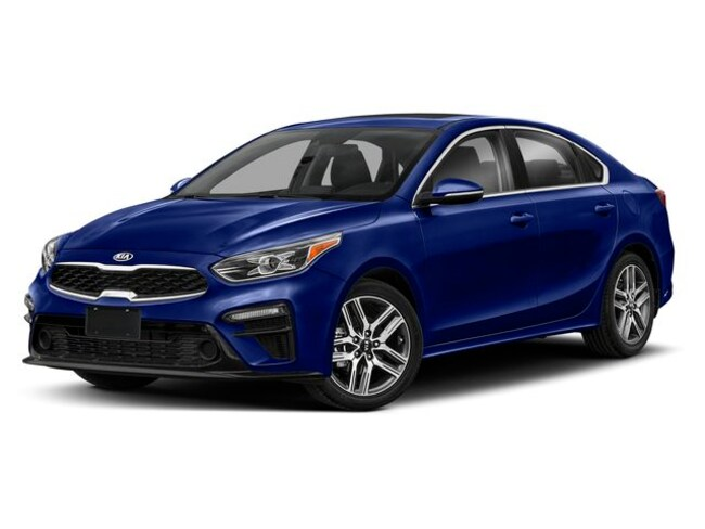 2019 Kia Forte EX Limited Sedan ICVT 2.0L Hyper Blue