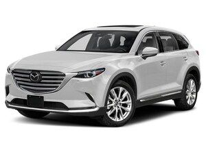 2019 Mazda CX-9 GT- SNOWFLAKE WHITE- AWD- LEATHER- SUNROOF