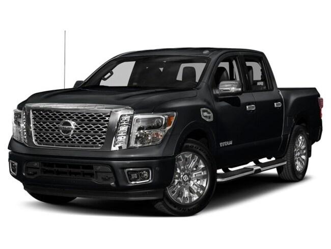 2019 Nissan Titan Platinum Truck