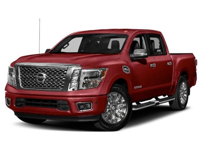 2019 Nissan Titan Platinum Truck Crew Cab