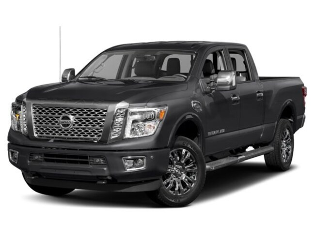2019 Nissan Titan XD Platinum Reserve Diesel Truck