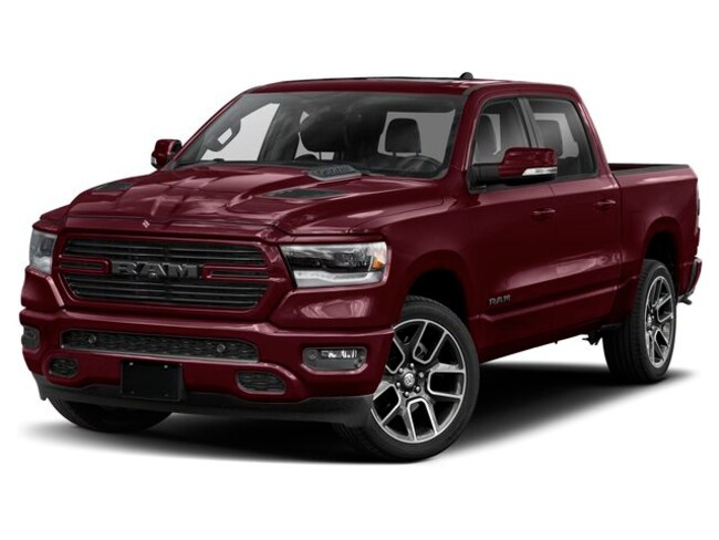 New 2019 Ram All-New 1500 Sport Truck Crew Cab in Edmonton, AB