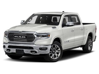 2019 Ram All-New 1500 Laramie Longhorn Truck Crew Cab 1C6SRFKT3KN550525 19077 Ivory Tri-Coat Pearl